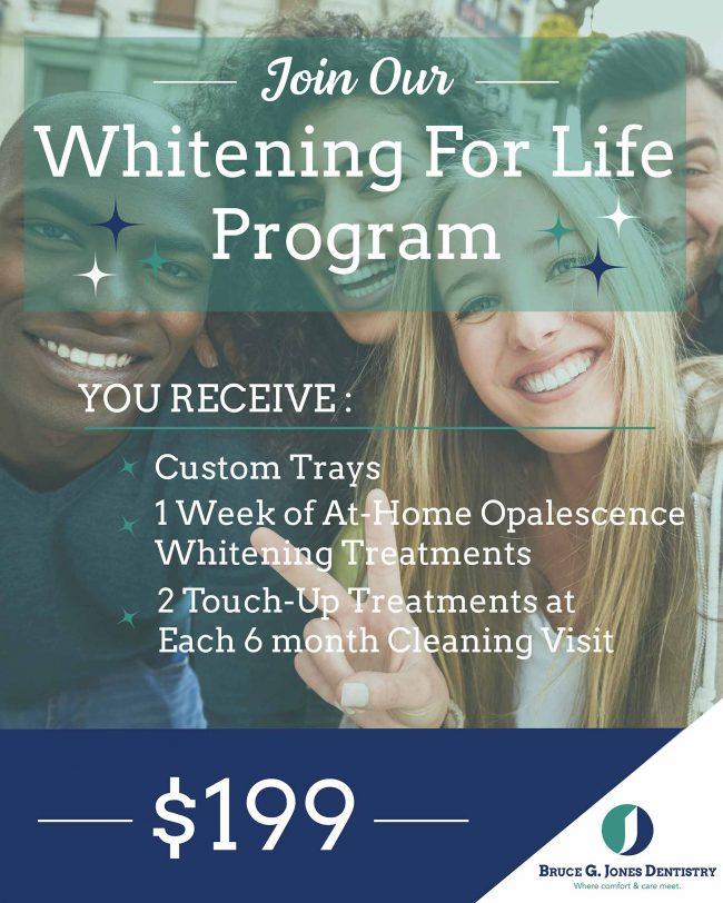 Teeth Whitening For Life Bruce Jones Dds Dentist Mi